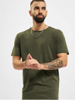 Jack & Jones T-paidat Jjebasher O-Neck vihreä