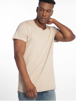 Jack & Jones T-shirt jjeBas beige