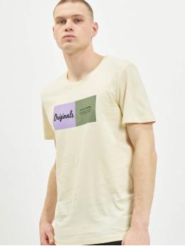Jack & Jones T-Shirt jorJoshua  beige
