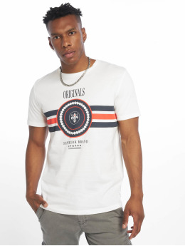 Jack & Jones T-Shirt jorVoyage blanc