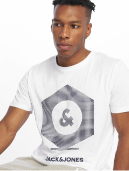 Jack & Jones T-Shirt jcoClo blanc