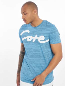 Jack & Jones T-Shirt jcoPainted blau