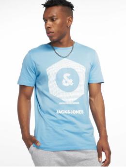 Jack & Jones T-Shirt jcoClo blau