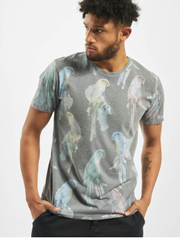 Jack & Jones T-Shirt Jorroppe Tee Ss Crew Neck blau