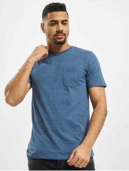 Jack & Jones T-Shirt jjePocket O-Neck Noos blau
