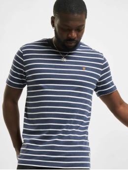 Jack & Jones t-shirt jprBlutom Stripe blauw