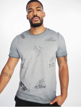 Jack & Jones T-Shirt jorKarsen  bleu