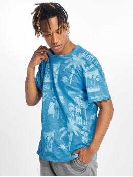 Jack & Jones T-Shirt jorPhotopalm bleu