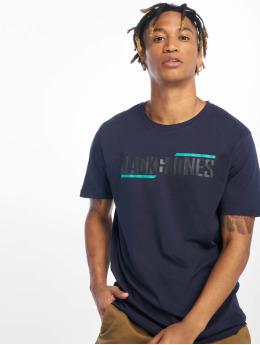 Jack & Jones T-Shirt jcoBooster bleu