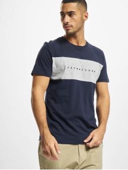 Jack & Jones T-Shirt Jorcopenhagen Blocking C.N BF bleu