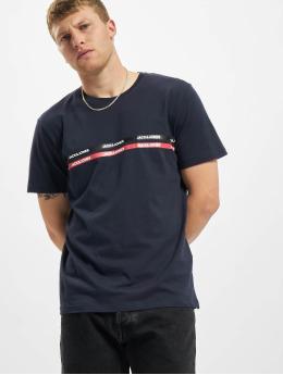 Jack & Jones T-Shirt Jjgavin  blue