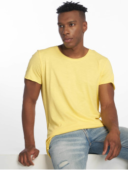 Jack & Jones t-shirt jjeBas geel