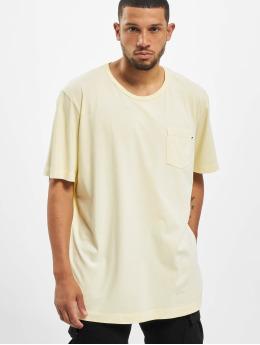 Jack & Jones t-shirt jjeJeans Wash Camp geel