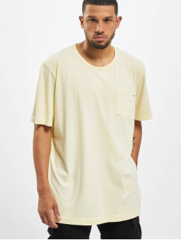 Jack & Jones T-Shirt jjeJeans Wash Camp gelb