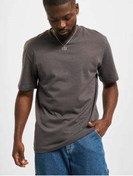 Jack & Jones T-Shirt Jjerelaxed O-Neck grau