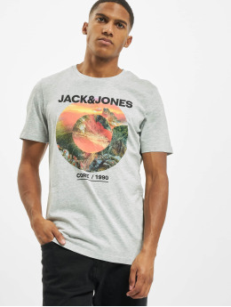Jack & Jones T-Shirt jjBarista gray