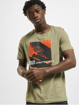 Jack & Jones T-Shirt jcoJump  green