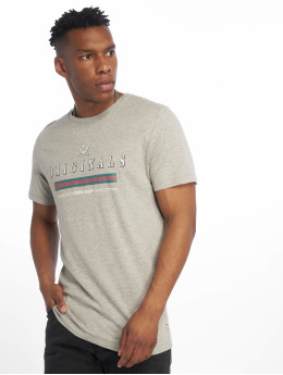Jack & Jones T-Shirt jorVoyage gris