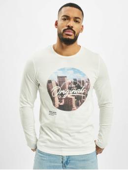 Jack & Jones T-Shirt manches longues jorUptown  blanc