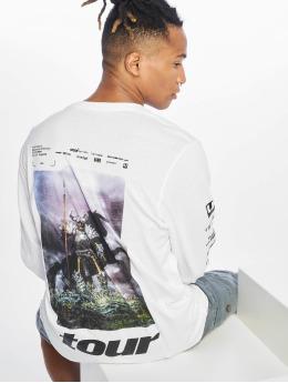 Jack & Jones T-Shirt manches longues Jcopostmalone blanc