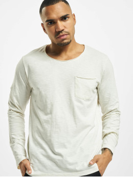 Jack & Jones T-Shirt manches longues jorAutumn Organic blanc