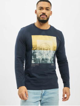 Jack & Jones T-Shirt manches longues jorUptown  bleu