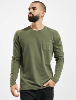 Jack & Jones T-Shirt manches longues jprBlalance  olive