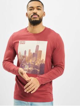 Jack & Jones T-Shirt manches longues jorUptown  rouge
