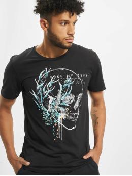 Jack & Jones T-Shirt Jorgarden Tee Ss Crew Neck noir