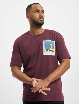 Jack & Jones T-Shirt jorAspen pourpre