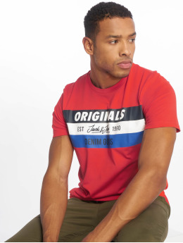 Jack & Jones T-shirt jorShakedowns röd