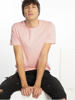 Jack & Jones T-Shirt jjePlain rosa
