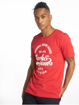 Jack & Jones T-Shirt jjeRafa rot