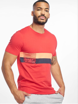 Jack & Jones T-Shirt jcoStairs rot