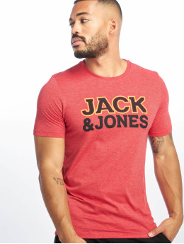 Jack & Jones T-Shirt jcoNine rouge