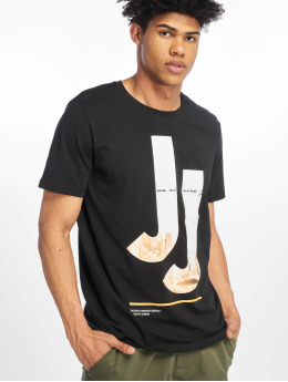 Jack & Jones T-Shirt jcoSpring-Feel schwarz