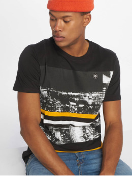 Jack & Jones T-Shirt jcoOval schwarz
