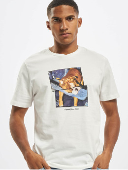 Jack & Jones t-shirt jorCloseup Organic Crew Neck FST wit