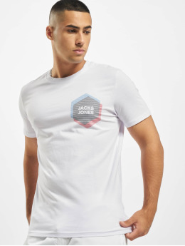 Jack & Jones t-shirt jcoCool  wit