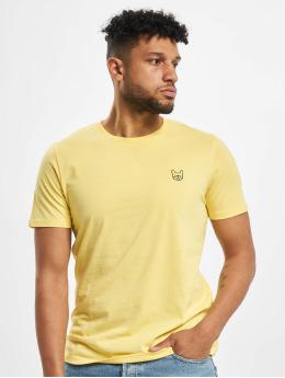 Jack & Jones T-Shirt jjeDenim Logo Noos yellow