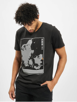 Jack & Jones t-shirt jcoSoup  zwart