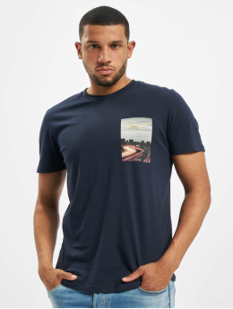 Jack & Jones T-shirts jorHolidaz  blå