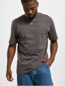 Jack & Jones T-shirts Jjerelaxed O-Neck grå