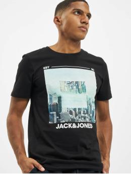 Jack & Jones T-Shirty jjBarista czarny