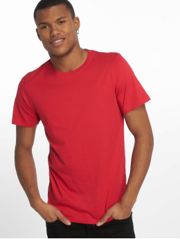Jack & Jones T-Shirty jjePlain czerwony