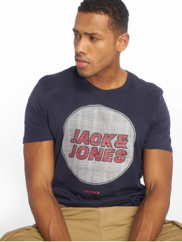 Jack & Jones T-Shirty jcoDustin niebieski