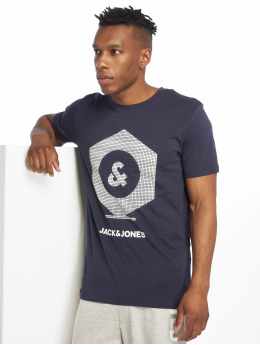 Jack & Jones T-Shirty jcoClo niebieski