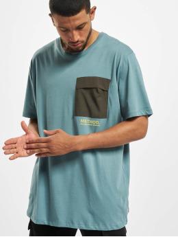 Jack & Jones T-Shirty jcoAwake  niebieski