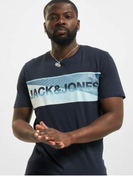 Jack & Jones T-Shirty jcoJenson niebieski