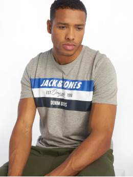 Jack & Jones T-Shirty  szary